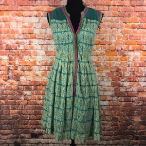 Anthro Plenty By Tracy Reese Rowan Shirt Dress 0